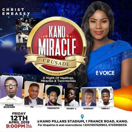kano miracle crusade at ur