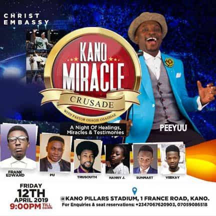 kano miracle crusade at ur