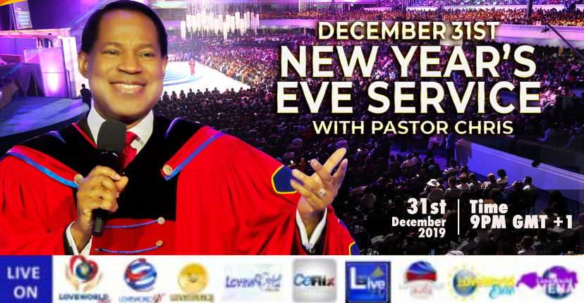 IT'S TODAY!!!! #Enter2020withPastorChris at any