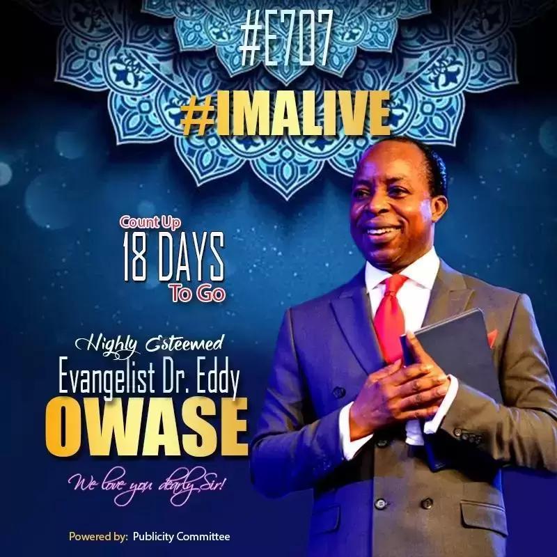 Celebrating our pastor. #ImAlive #E707