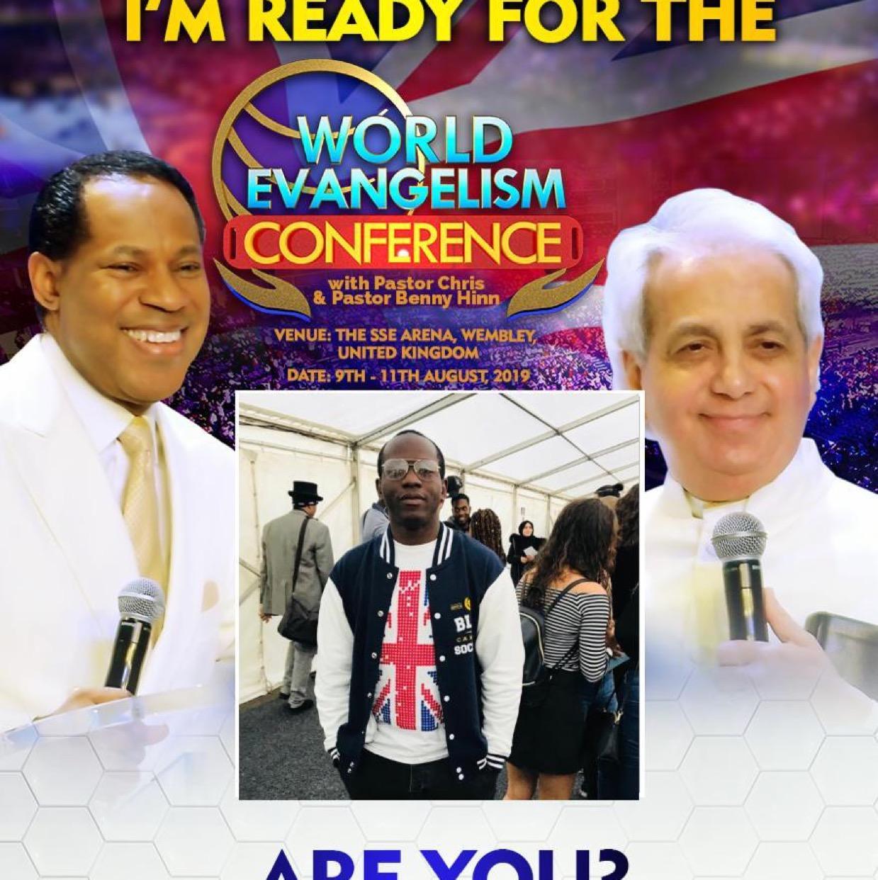 #WECUKwithPastorChris #PastorChris #WEC2019 #Unite