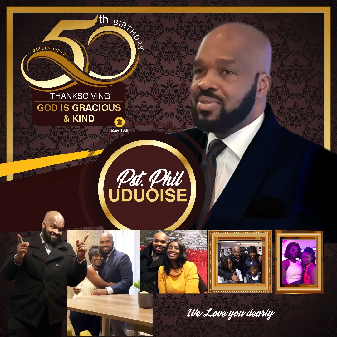 Celebration our Pastor #PPU0519 #50thBirthday