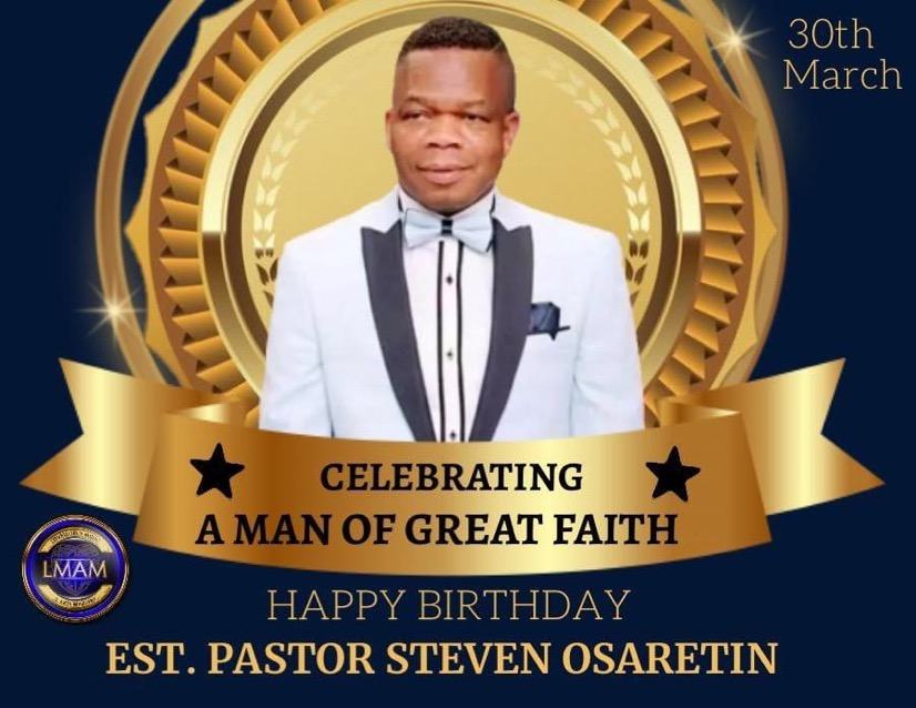 #PSO3003 #CELEBRATINGPASTORSTEVENOSARETIN #CEGERMA