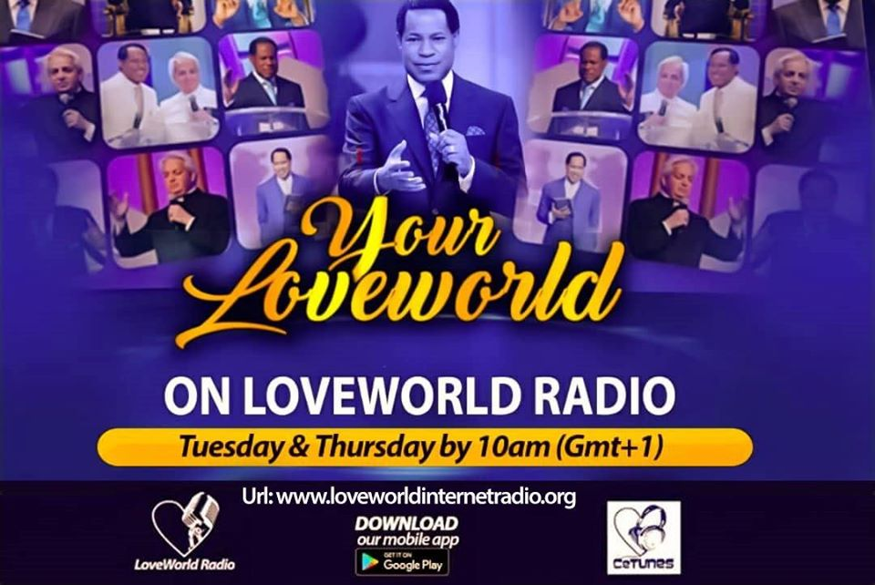 On Now - #YourLoveworld with