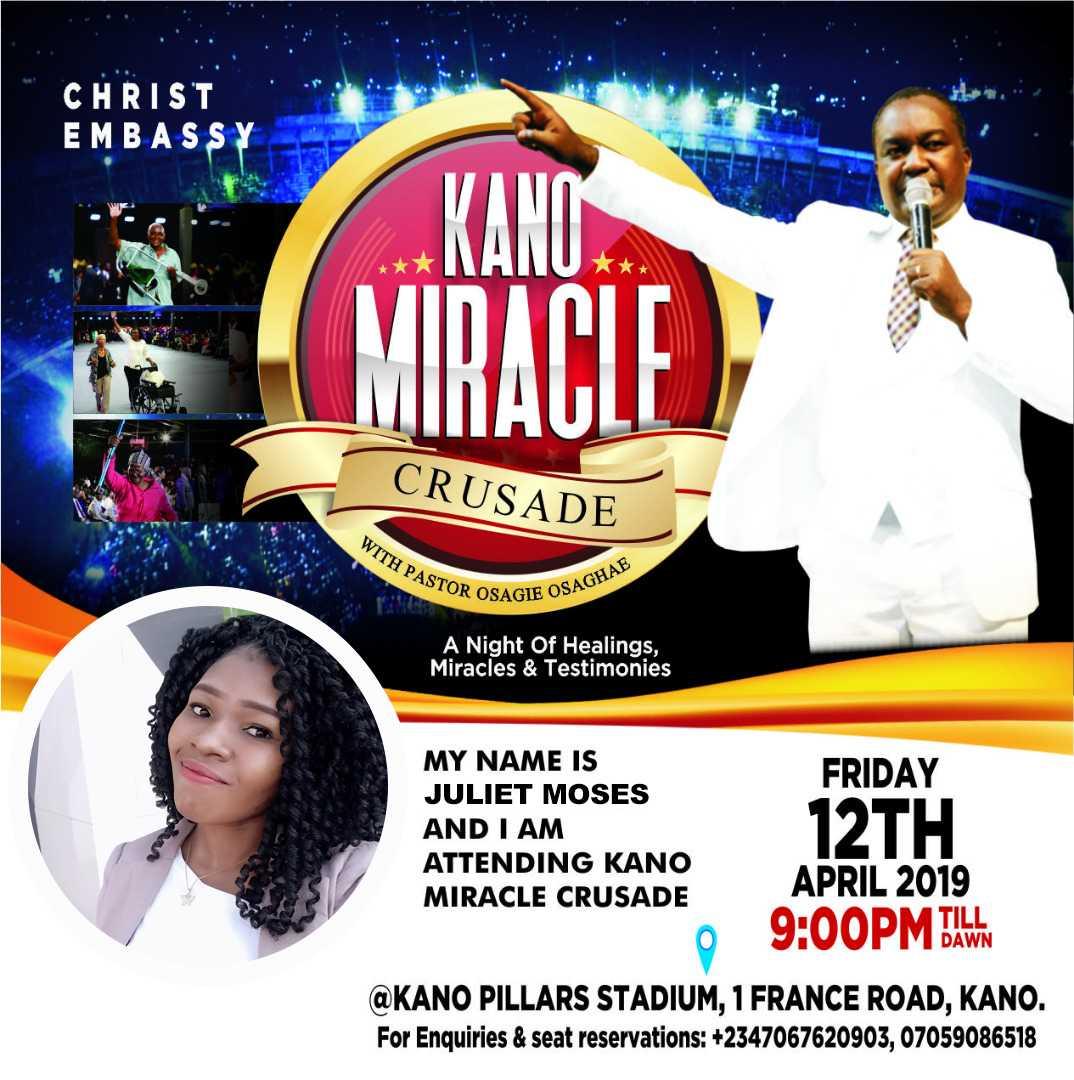 tnk you jesus #kanomiraclecrusade #kmc4