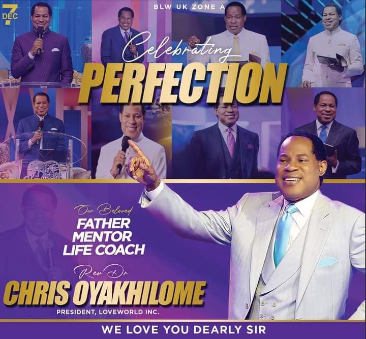 Indeed we are celebrating Perfection!
