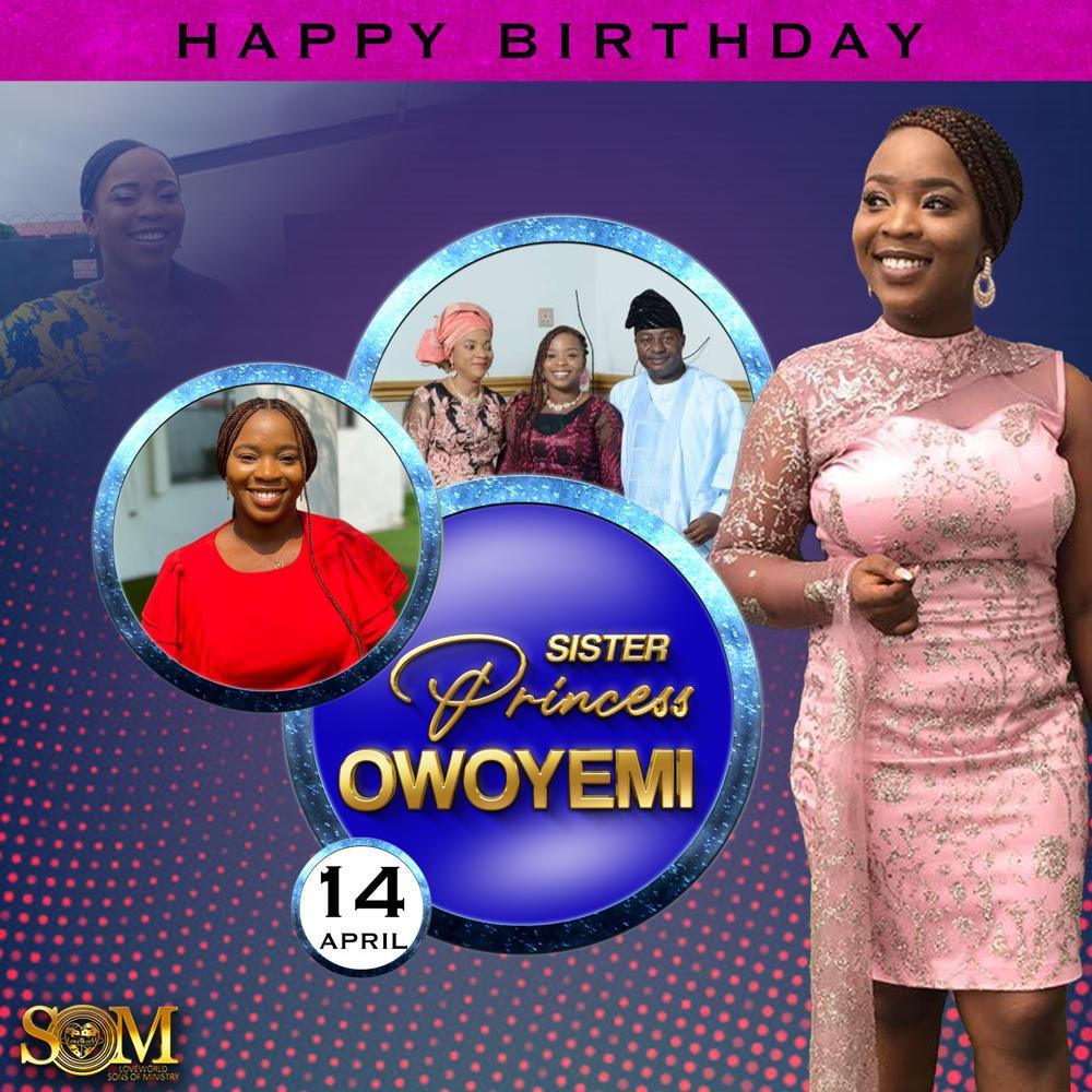 CELEBRATING GOD'S BEST Happy birthday
