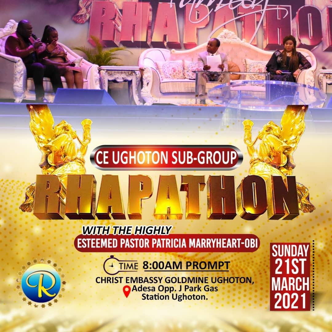 CE UGHOTON SUB GROUP RHAPATHON