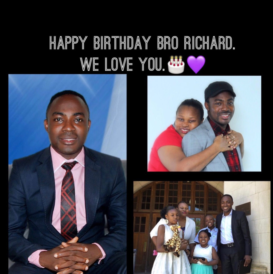 HBD Bro Richard, We
