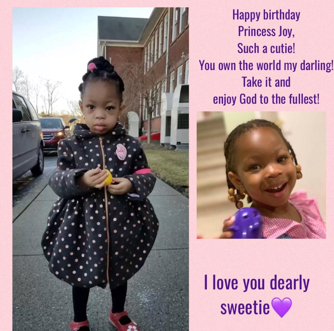 "Celebrating 3yrs of God's ""Joyfulness,"