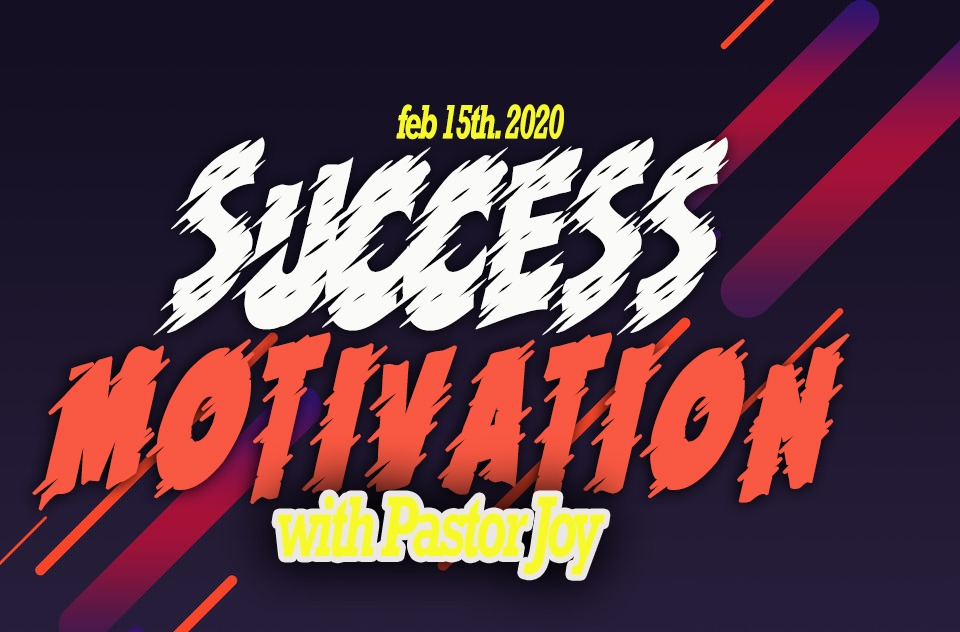 Join me@Success motivation with pastor