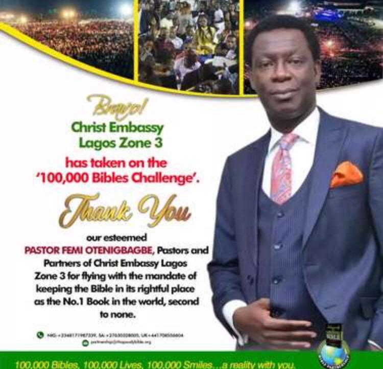 Bible Sponsors