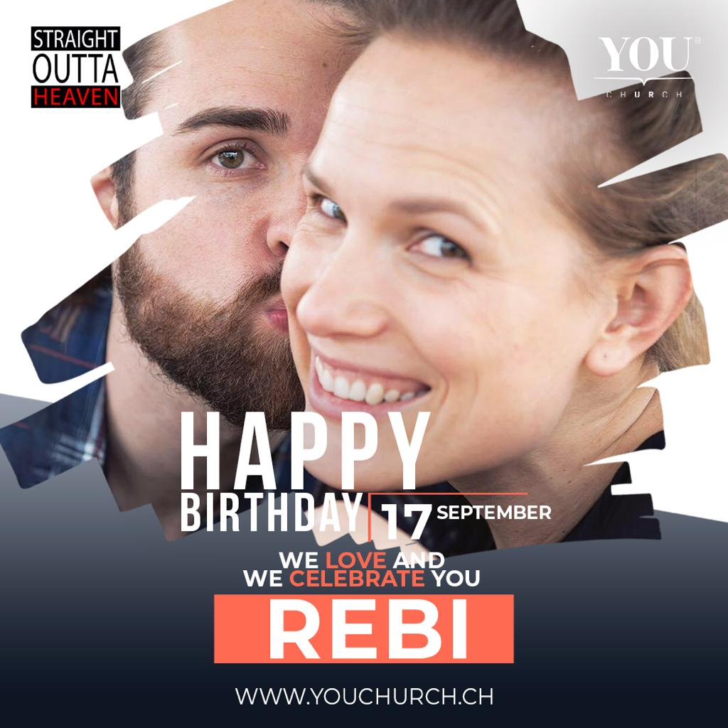 Happy birthday beloved Rebi! YOU