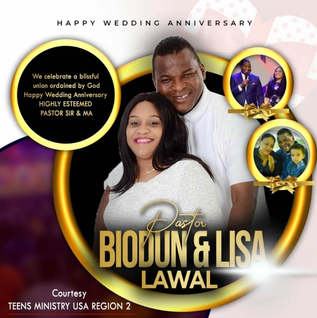 HAPPY WEDDING ANNIVERSARY HIGHLY ESTEEMED