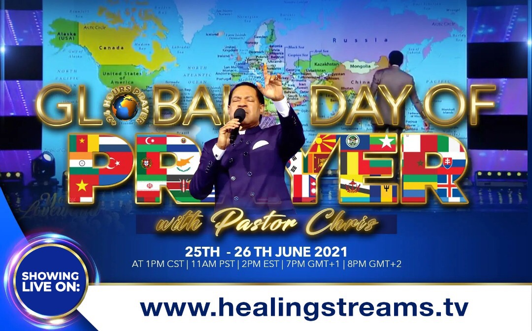 #globaldayofprayer #healingstreams #LiveHealingSer