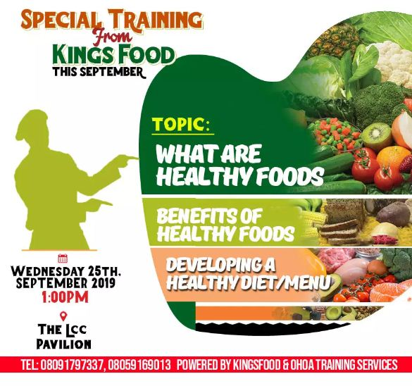 Special Training from Kingsfood Happening