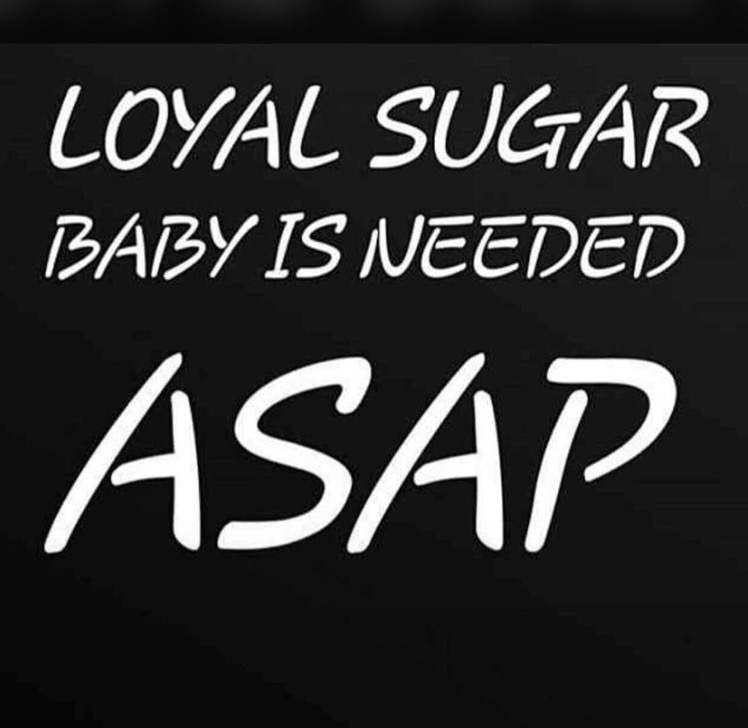 Searching for a sugar baby