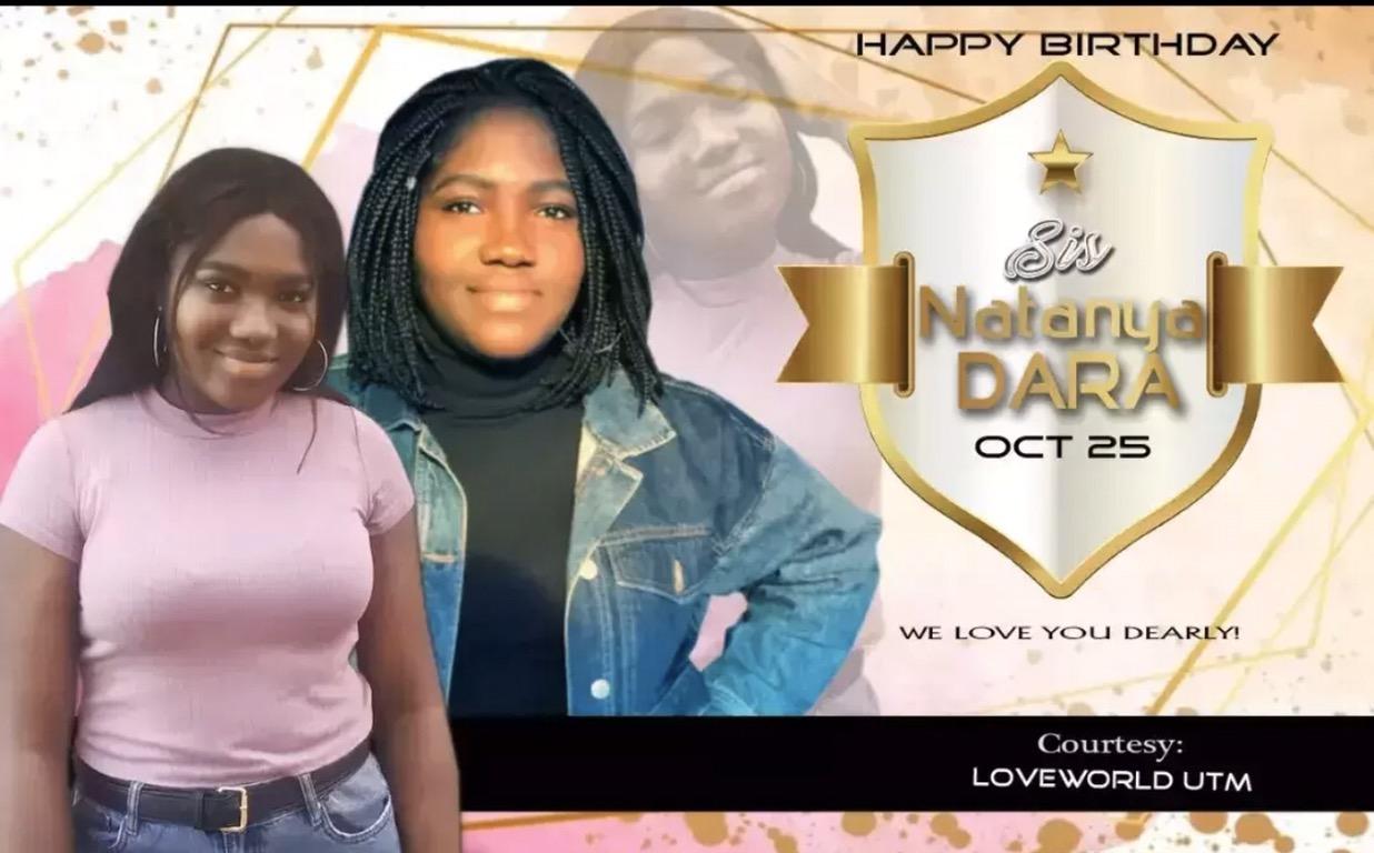 Happy Birthday Sis Natanya Dara,