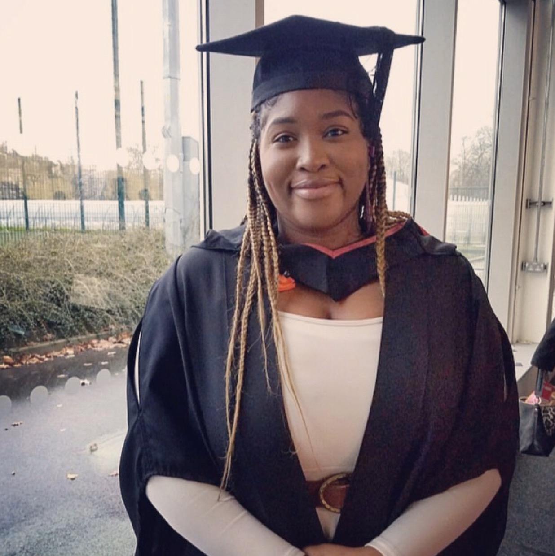 Congratulations to Sis Jessica Onubogu