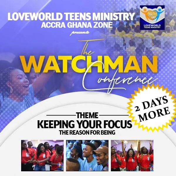 The Watchman Conference!!! Glorrrrrrrryyyyyyyyyyyy