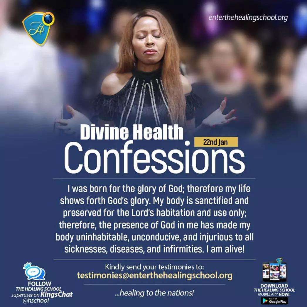 📣📣PROCLAMATION TIME📣📣 DIVINE HEALTH CONFESSIO