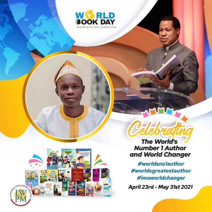 # worldno1authour #worldchanger #worldbookday2021