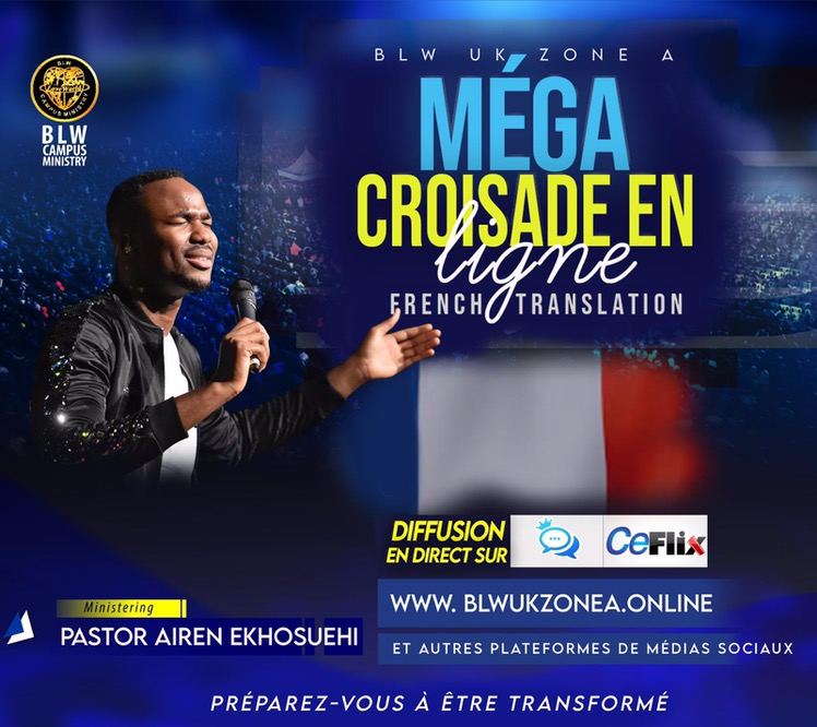 #MegaOnlineCrusade #FrenchTranslation #Blwcampusmi