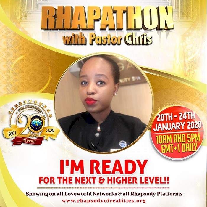 #rhapathon I am ready