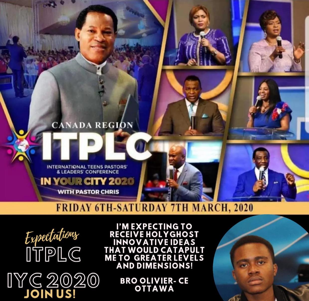2 DAYS TO #ITPLC CANADA