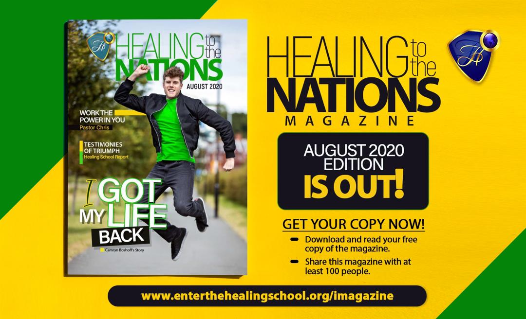 HEALING TO THE NATIONS MAGARZINE