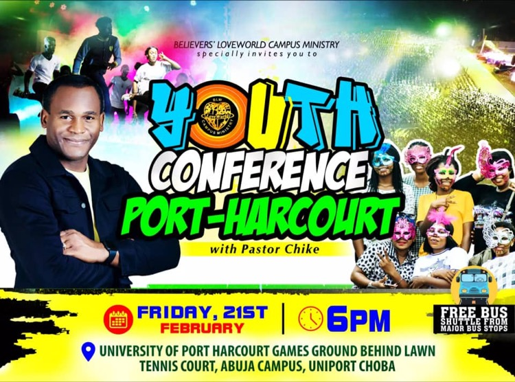 YOUTH CONFERENCE LIVE IN PORT-HARCOURT,
