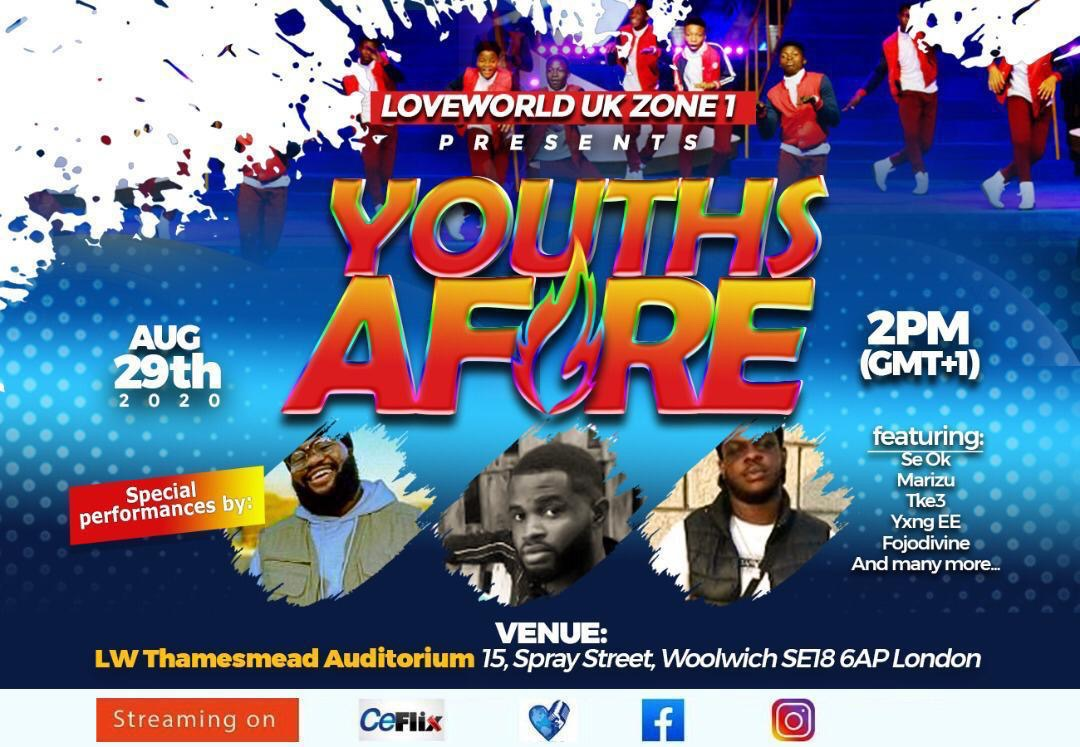 #youthsafire