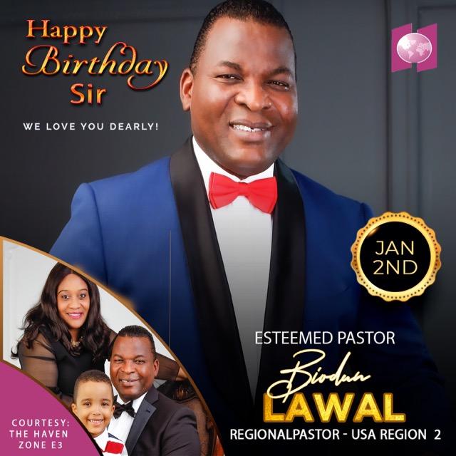 Happy Birthday Esteemed Pastor Biodun