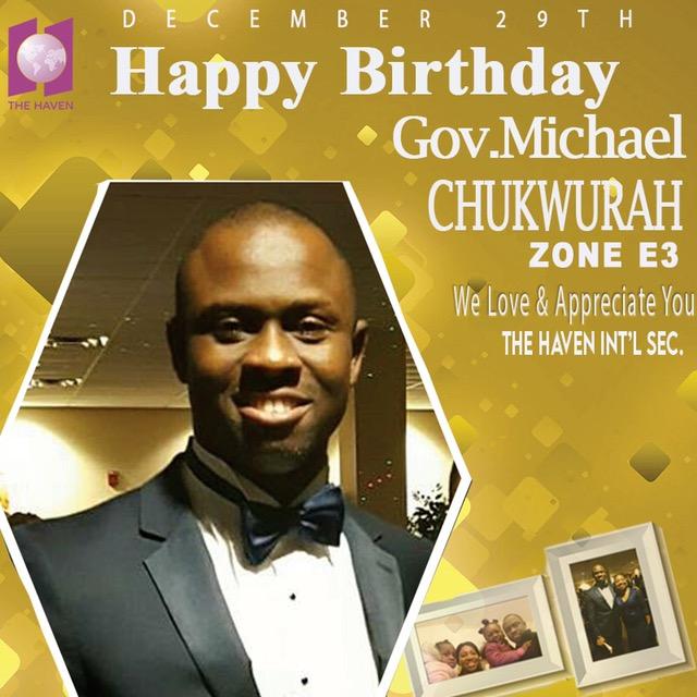 Happy Birthday dearest Gov Michael