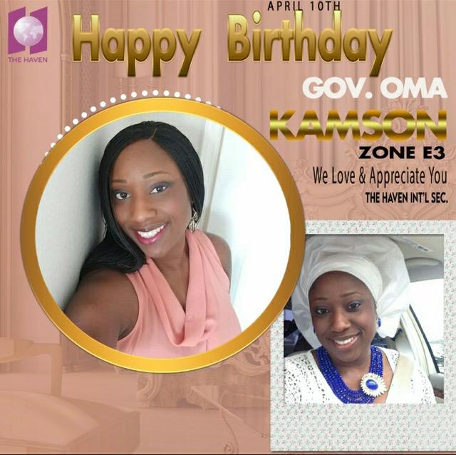 Happy Birthday Esteemed Gov Oma
