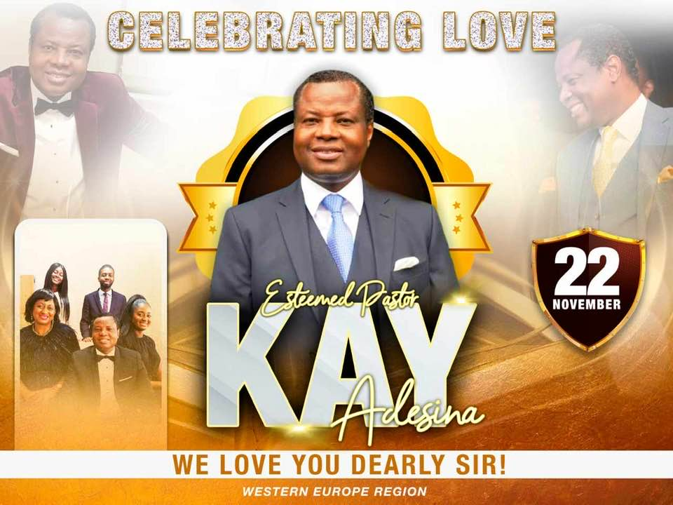 Happy Birthday Pastor Sir, We