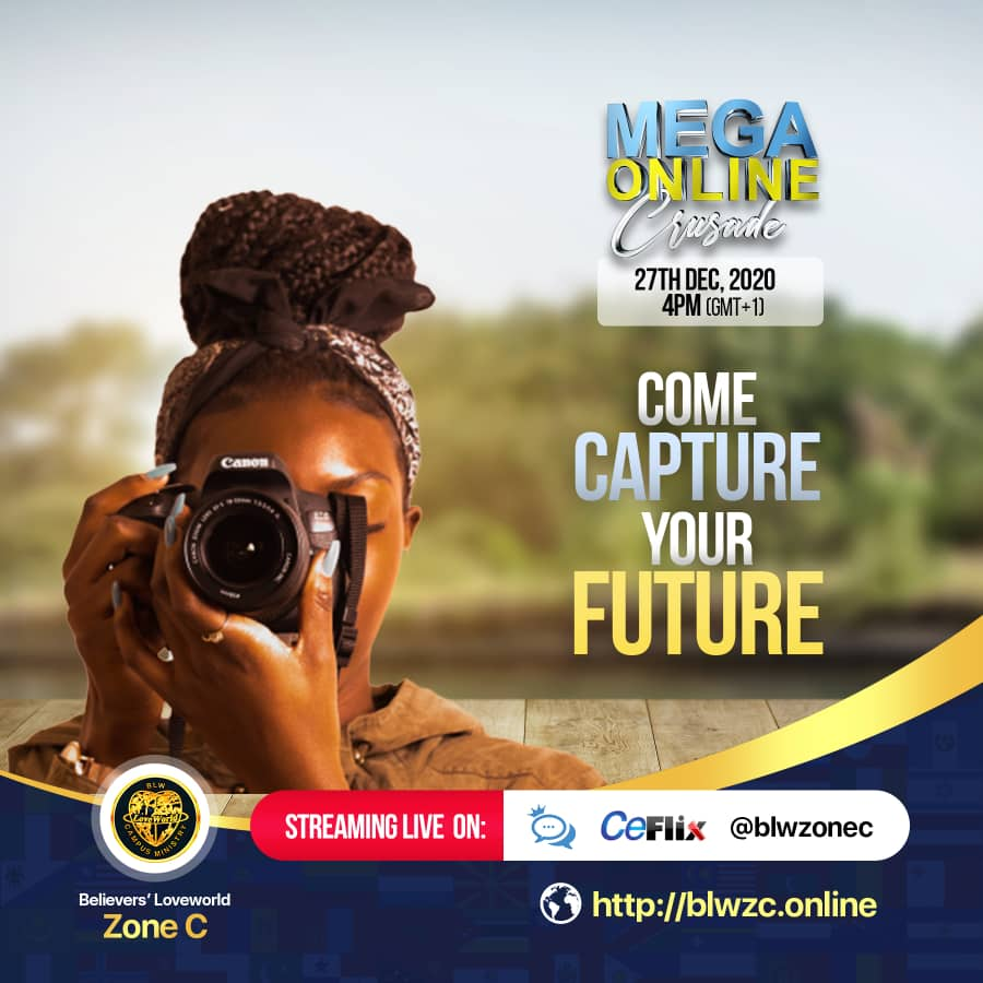 It's time 📸📸 #megaonlinecrusade #blwcampusminist
