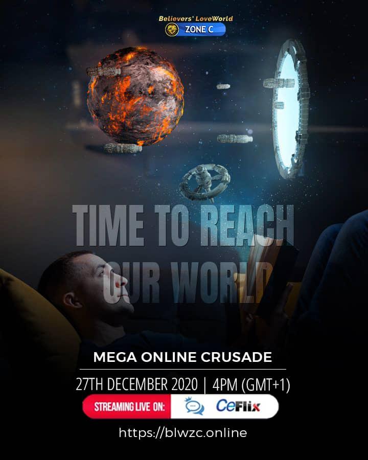 Hallelujah #megaonlinecrusade #blwcampusministryro