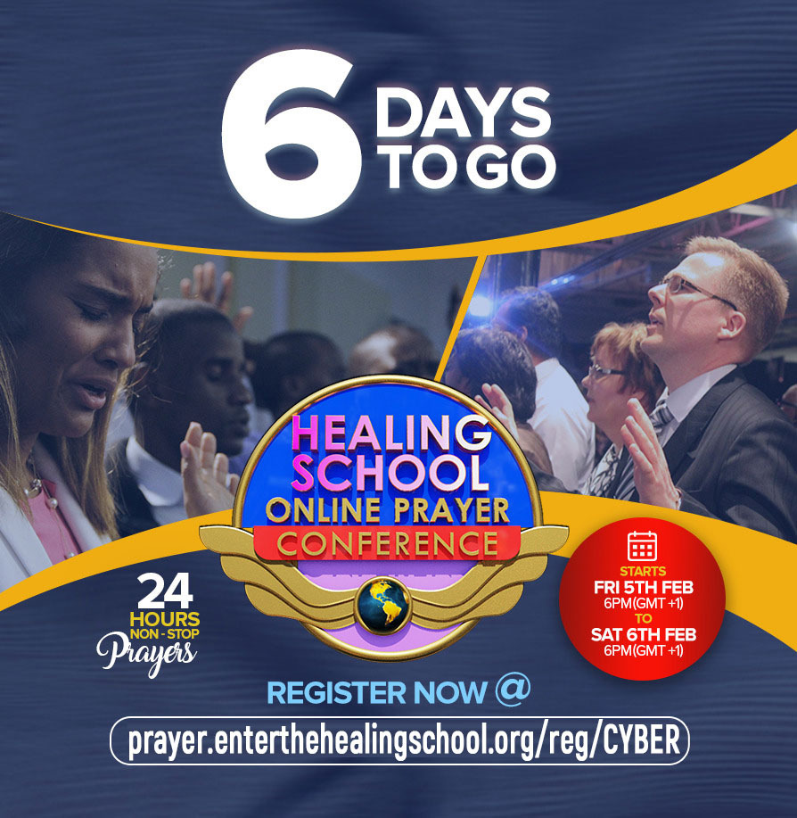 6 DAYS TO THE HEALING