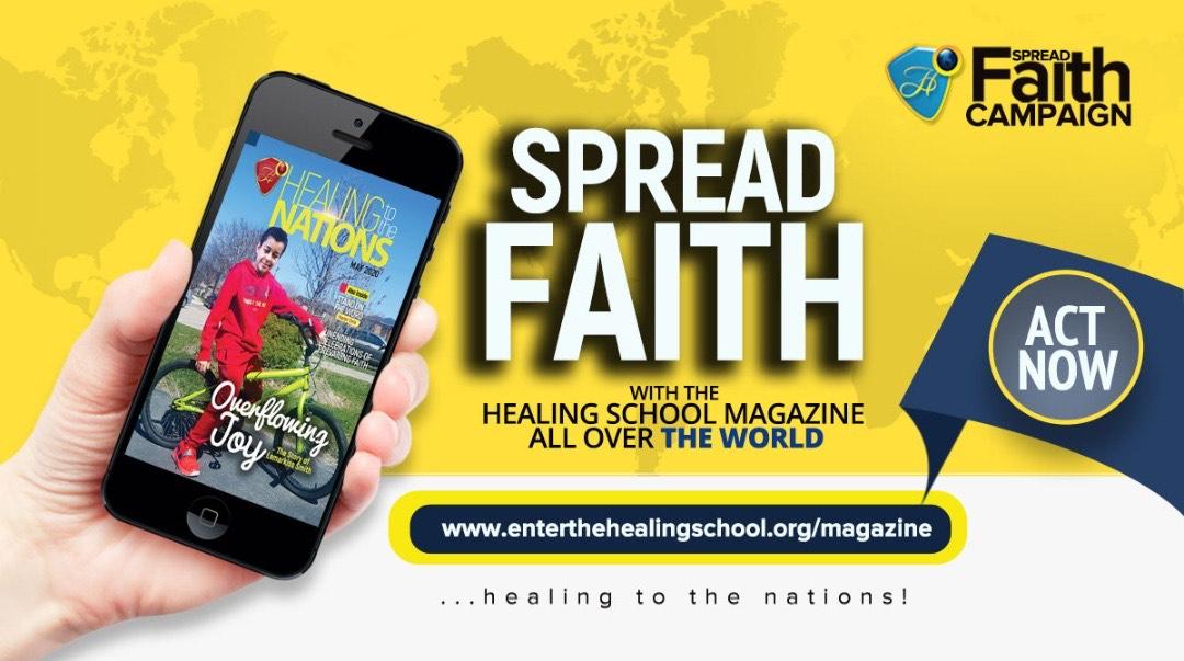 #SpreadFaithCampaign #Healingtothenations #thevide