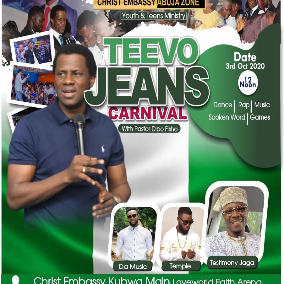 It's Teevo Jeans Carnival 🎡!!!