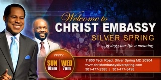 Christ Embassy Silver Spring avatar picture