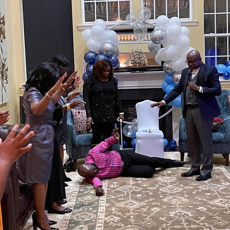 Still Celebrating Our Pastor's Birthday!