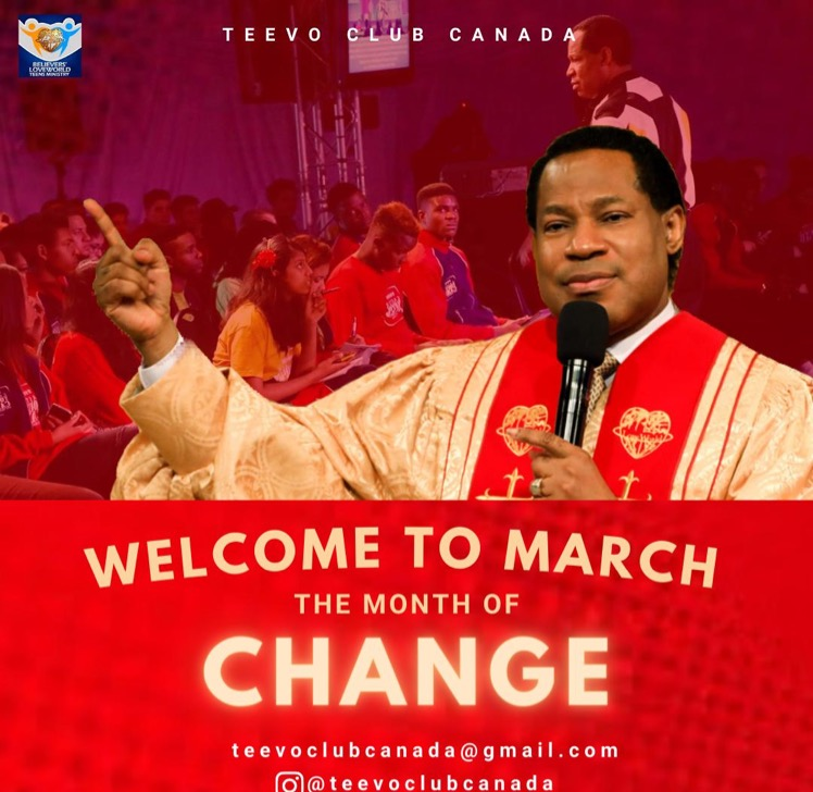It's MONTH OF CHANGE, Glory!
