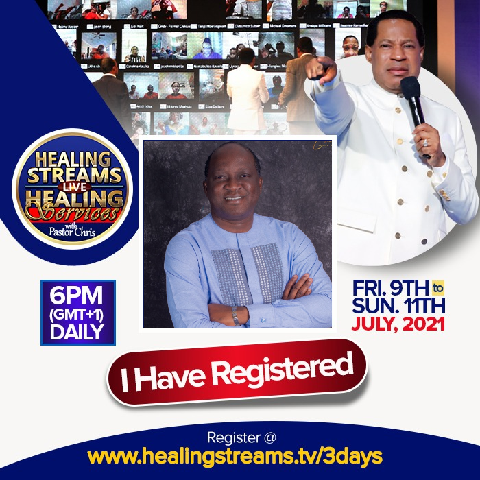 HEALING STREAMS LIVE HEALING SERVICES