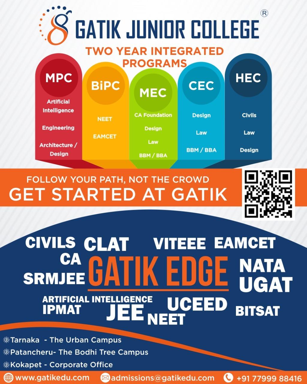 Gatik Junior College Offering the