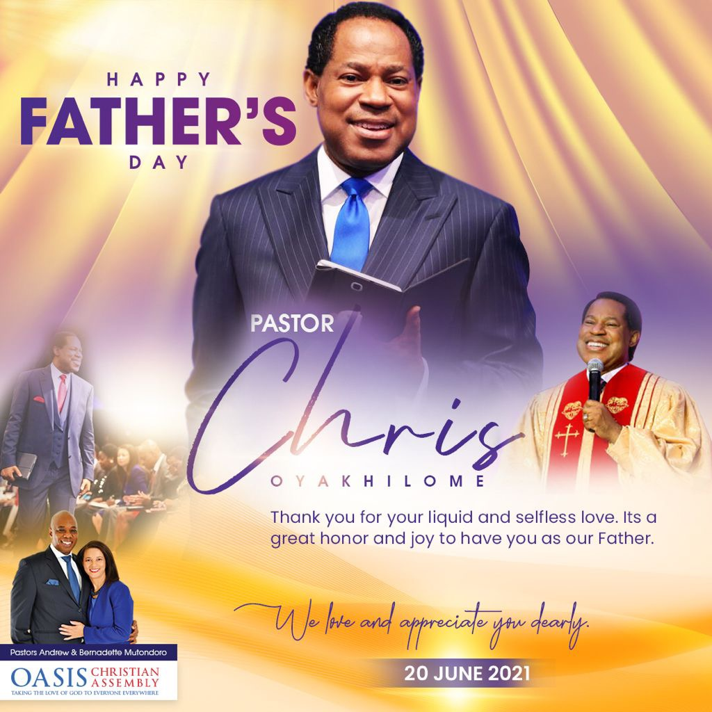 Happy Father's Day to you