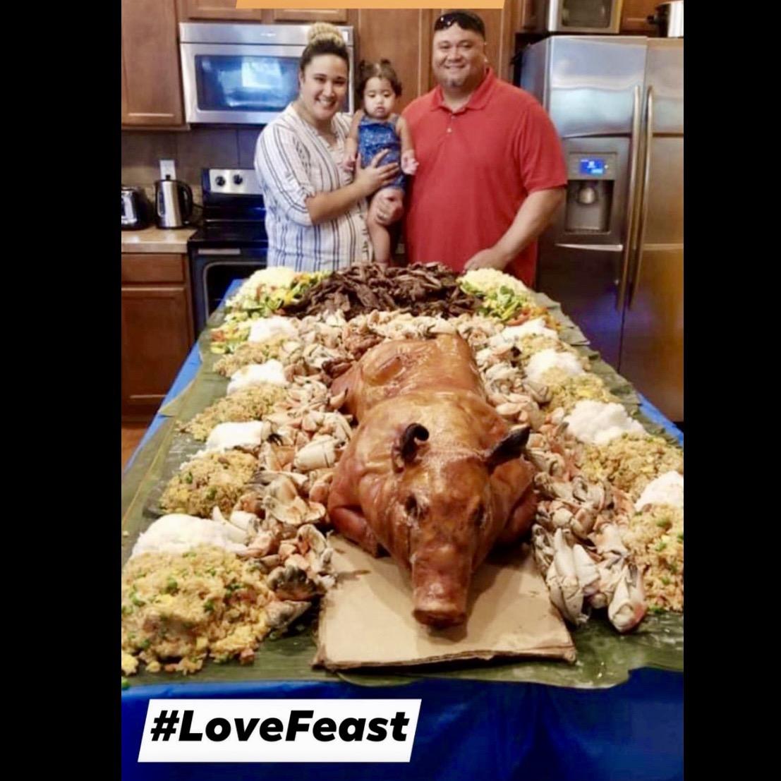 ❤️❤️❤️ LOVE FEAST ❤️❤️❤️ #LoveFeast