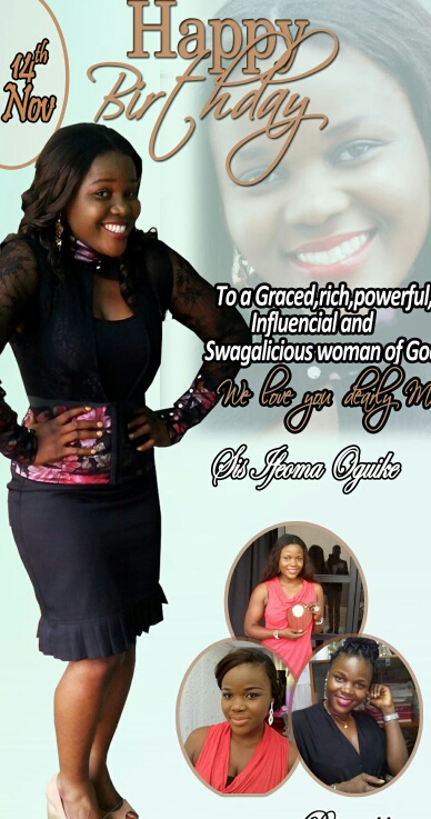 Hapi birthday Sis Ifeoma!!Your passion