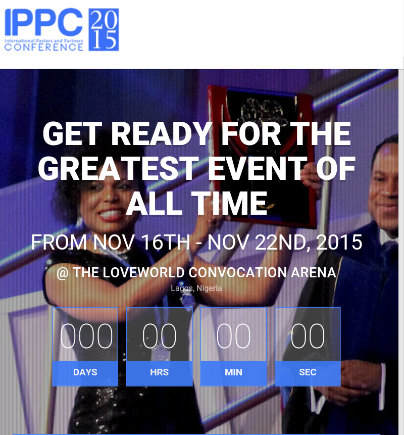 Can't wait... #ippc2015